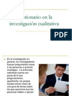 INVESTIGACION Parcial2 El Cuestionario
