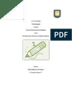 Desarrollo socio afectivo en el ámbito académico - Psicopedagogía