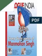 Crony Governance of Manmohan Singh