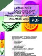 APLICACIÓN DE LA METODOLOGIA SEIS SIGMA DMAIC.ppt