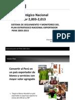 6. Plan Estratégico Nacional Exportador PENX, Gaston Otero - MINCETUR