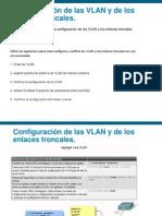 CONFIGURACION DE LAS VLAN Y LOS ENLACES TRONCALES.ppt