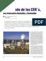 Artículo El Mercado de los CER´s, Una Alternativa Rentable y Sostenible