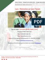 Voyage Laos Extension Au Laos 5 Jours