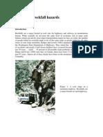 9 Analysis of Rockfall Hazards