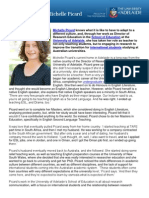 Meet Director of Research Education Michelle Picard from the School of Education