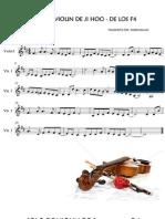 violin f4