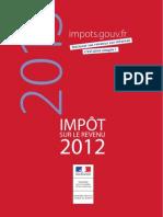 Impôt sur le revenu 2012