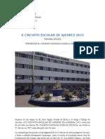 x Circuito Escolar de Ajedrez 2013 - Sagrada Familia de Elda