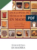 Enciclopedia de Tecnicas de Talla en Madera