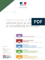 Pacte national pour la croissance, la compétitivité et l'emploi