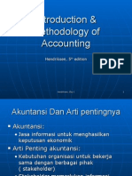 Introduction & Methodology of Accounting (Hendriksen,1)