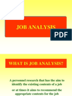 Job Analysis hrm
