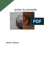 Como evitar la corrosión