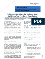 Two Tiered Wage System