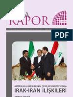 Amerikan Askerlerinin Çekilmesinden Sonra Irak-İran İlişkileri