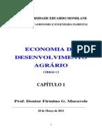 Conceitos de Economia Do Desenvolvimento Agrario