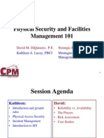 Physical Security and Facilities Management 101