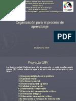 organizaci+¦n para el aprendizaje (estructuras de trabajo )