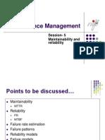 Session-5 Maintenance Management