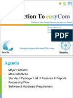 Introduction to Human Resource Management System EasyCOM EnglishVersion