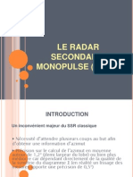 Le Radar Secondaire Monopulse (Mssr)