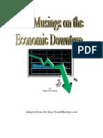 Torah Musings on the Economic Downturn
