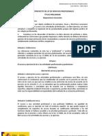 Borrador Anteproyecto LSP Abril 2013