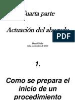 CUARTA PARTE Actuaci%F3n Del Abogado