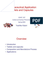 Pharmaceutical Tablet and Capsule