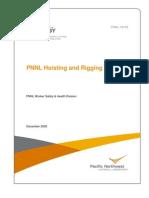 Hoisting and Rigging Manual