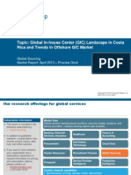 Global In-house Center (GIC) Landscape in Costa Rica and Trends in Offshore GIC Market