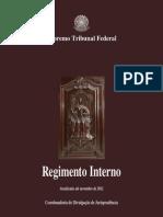 STF - Regimento Interno (atualizado até novembro de 2012)