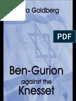 [Giora Goldberg] Ben-gurion Against the Knesset (c