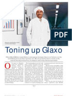 Revitalising Glaxo - Business India Cover Story