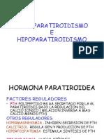 Hiperparatiroidismo e Hipoparatiroidismo 1
