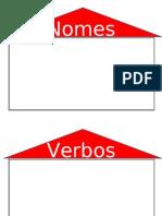 Casas Nomes Verbos Adjectivos Determ.