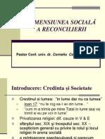 Dimensiunea Sociala a Reconcilierii