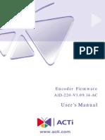 ACM 3401 Firmware