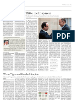 "My first story for fabulous German news paper DIE WELT - here is the print version. Online available under Politik Ausland (weltonline.de) ""Wenn Tiger und Drache kämpfen"""