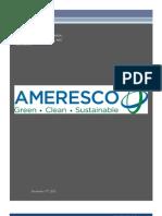 Ameresco - Final Report