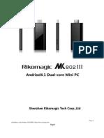Mk802 III User Manual w2comp
