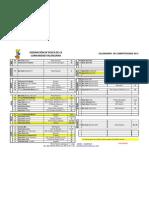 Calendario Competiciones FPCV U.M 06.03.2013