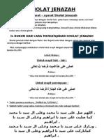 Bacaan Sholat Lengkap Pdf