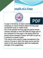 Strength of Yoga