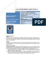 CARRERA DE INGENIERÍA MECÁNICA