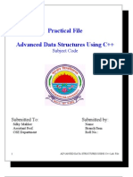 Datastructure Practical File