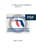 FDOT Utility Production Rate Manual