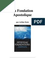 Art Katz La Fondation Apostolique
