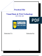 Vb Practical File